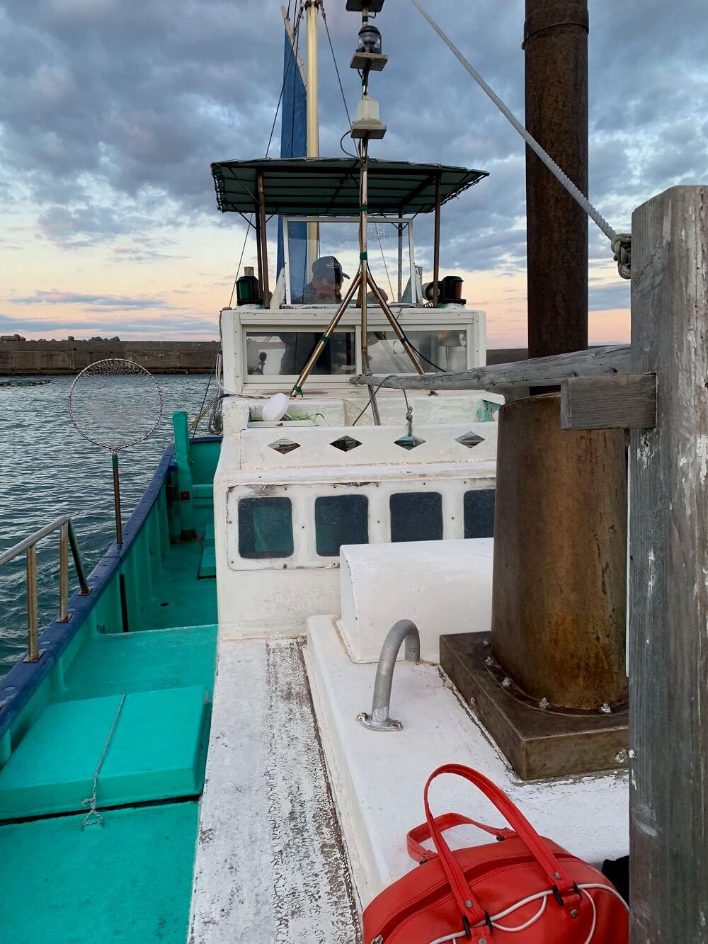 千葉県高崎港 船釣り 船長